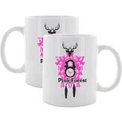 "Tasse: Kuckucksuhr ""PinkForest"""