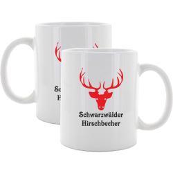 """Tasse: Hirsch red """"black forest Hirschbecher"""""""