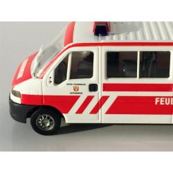 Model car 1:87 Fiat Ducato MTW FF Kippenheim (BaWü) (FEUER1-Exklusivmodell)