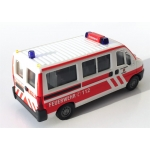 Modèle de voiture 1:87 Fiat Ducato MTW FF Kippenheim (BaWü) (FEUER1-Exklusivmodell)