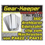 Gear-Keeper: Attrezzature Edelstahlclip für P4422, P4412