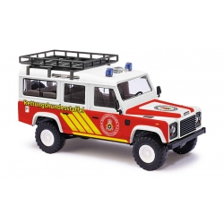 Model car 1:87 Land Rover Defender, Rettungshundestaffel...