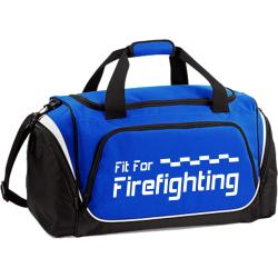 """Sporttasche blau """"Fit For Firefighting"""", 62 x..."""