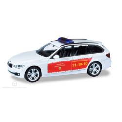 Model car 1:87 BMW 3er Touring, KdoW, FF Goslar (NDS)
