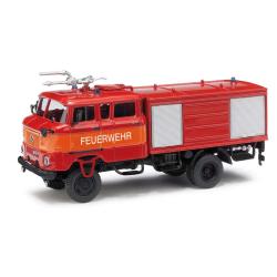 Model car 1:87 IFA W50 TLF GMK, Berlin whiteensee (BER)