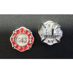 "FDNY ""343"" Pandora sterling silver, offiziell..."