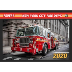 Kalender 2020 New York City Fire Dept. (8.Jahrgang) -...