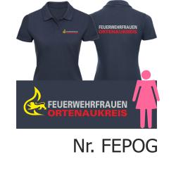 Women Polo navy, BaWü-Stauferlöwe...