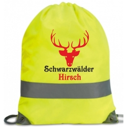 "Black Forest Neon-Bag ""black forest Hirsch"""