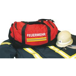 """Medium-Feuerwehrtasche """"FEUERWEHR"""" weiss,..."""