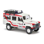 Model car 1:87 Land Rover Defender, KdoW, JUH OV Mainz04/10-01 (RLP)