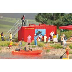 Equipment 1:87 DLRG Tauchcontainer