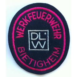 Abzeichen Werkfeuerwehr DLW Bietigheim