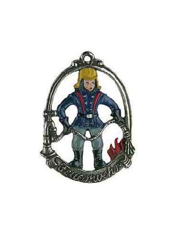 Zinnornomit Feuerwehrmann 6cm