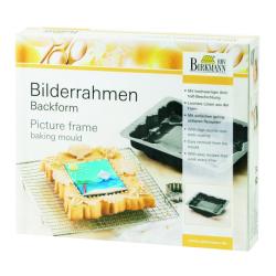 "Backform ""Bilderrahmen"" mit Rezepten"