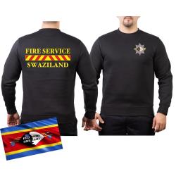 Sweat black, FIRE SERVICE SWAZILAND
