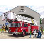 Ravensburger Boden-Puzzle Fire Truck 60 x 90 cm, 24 Teile für Kinder ab 3 Jahren