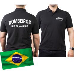 Polo black, BOMBEIROS Rio de Janeiro (Brasil)