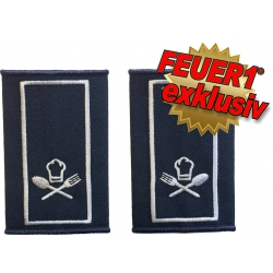 FEUER1 Dienstgrad-Schlaufen-Paar Spezial:...
