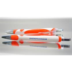 Kuli white/orange/silver JUGENDFEUERWEHR (1 St)