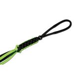 Schlüsselanhänger Parachutecord schw/neongrün