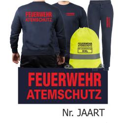 Sweat-Tenue de jogging marin, FEUERWEHR ATEMSCHUTZ dans...