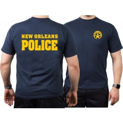 T-Shirt azul marino, New Orleans Police, Louisiana