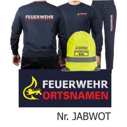Sweat-Jogging suit navy, BaWü Stauferlöwe with...