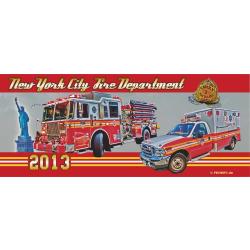Tasse New York City Fire Department 2013 - limitiert