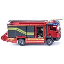 Modell 1:87 MAN TGM Euro 6, Rosenbauer AT, LF, mit...