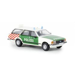 Model car 1:87 Ford Granada II Turnier, Polizei Berlin (BER)