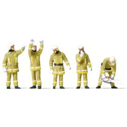 Equipment 1:87 Figuren in sandfarbener Einsatzkleidung...