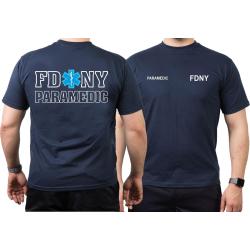 T-Shirt navy, New York City Fire Dept. Paramedic, Star...