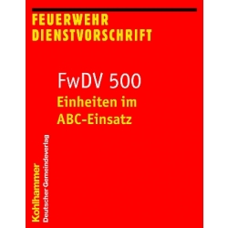 Book: FwDV 500 - Einheiten im ABC-Einsatz