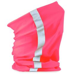 Anti-Corona-Schlauchschal Pink con Reflex