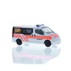 Model car 1:87 Opel Vivaro, emergency doctor ASB...