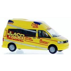 Model car 1:87 VW Ambulanz Mobile Hornis Silver, ASB RV...
