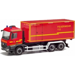 Model car 1:87 MB Arocs M WLF with AB-Logistik, FF...