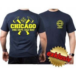 CHICAGO FIRE Dept. axes and hazard diamond HAZ MAT...