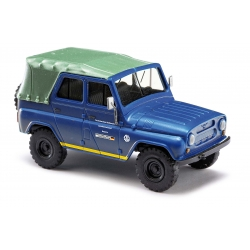 Model car 1:87 UAZ 469 with Dach, THW LV München (BAY)