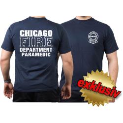 CHICAGO FIRE Dept. PARAMEDIC, marin T-Shirt