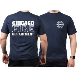 CHICAGO FIRE Dept., Standard, navy T-Shirt, XXL