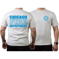 CHICAGO FIRE Dept. blue, ash T-Shirt