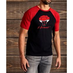 T-Shirt noir-red, Bollenhut - Heimat