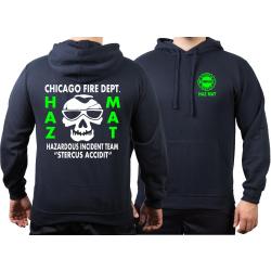 CHICAGO FIRE Dept. HAZ MAT Incident Team, green, azul...