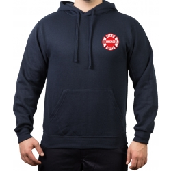 CHICAGO FIRE Dept. Standard white/red, navy Hoodie