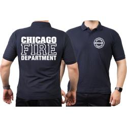 CHICAGO FIRE Dept. Standard, navy Polo