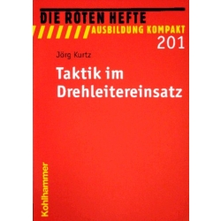 "Libro: rojo Heft 201 ""Taktik im Drehleitereinsatz"""