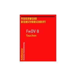 Book: FwDV 8 - Tauchen 9. Auflage - 64 S.