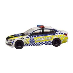 Model car 1:87 BMW 5er Limousine, Victoria Police Highway...